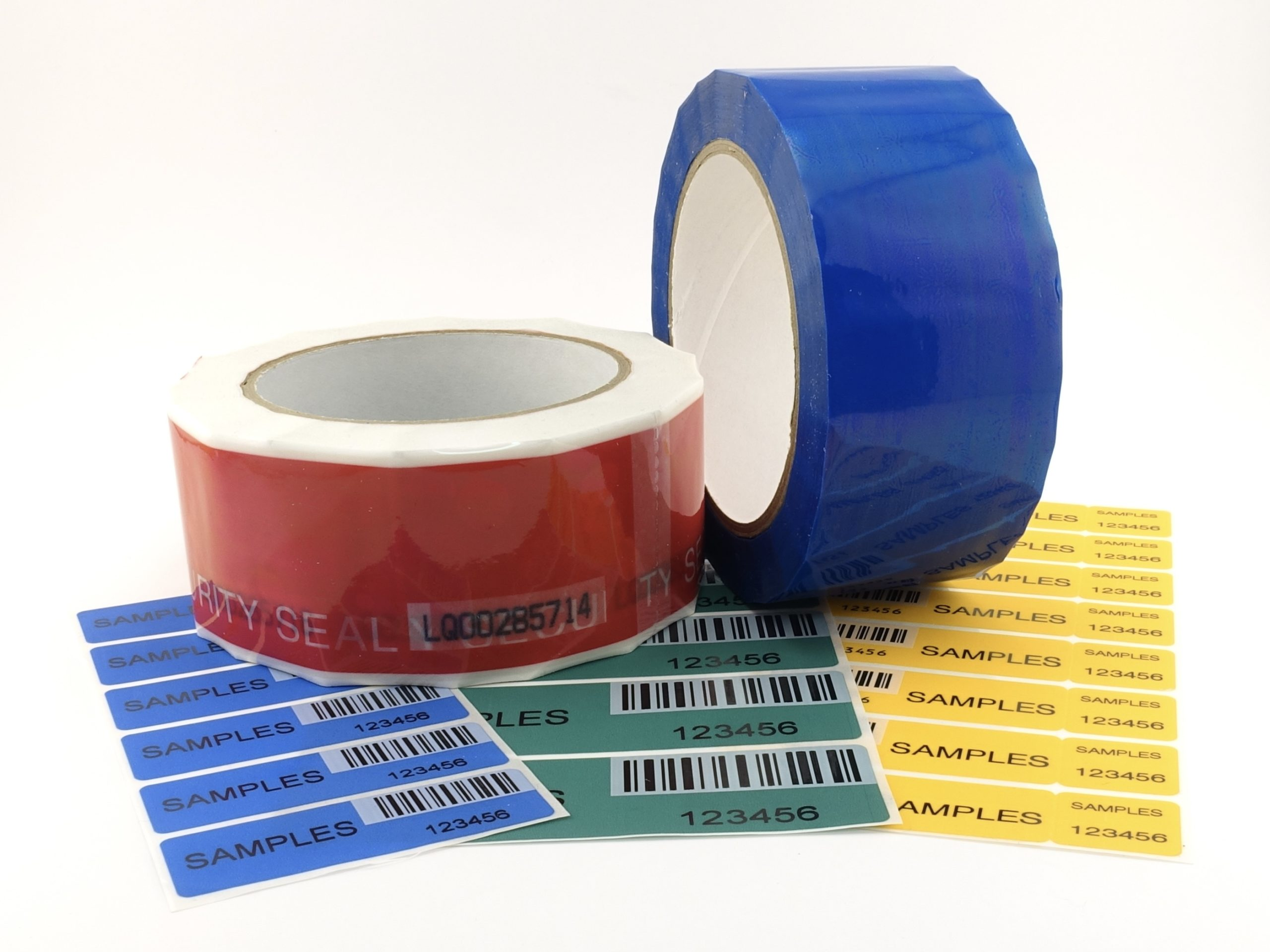 SECURITY LABEL SEALS AND TAPES